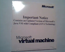 CD Microsoft Virtual Machine update Java VM Kit Patch English 2237P