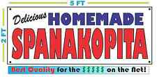 HOMEMADE SPANAKOPITA BANNER Sign NEW Larger Size Best Quality for the $$$ BAKERY