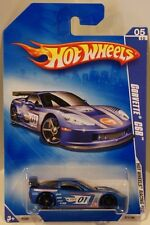 Hot Wheels 2009 Racing '09 Corvette C6R Satin BLUE #171