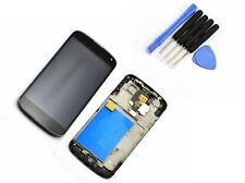 For LG E960 Google Nexus4 écran LCD Display Digitizer Touch Scree +Cadre Black