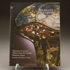 Treasures of Louis C. Tiffany from the Garden Museum Michaan's Auctions Catalog