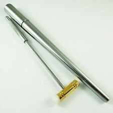 STEEL RING MANDREL AND BRASS FIBRE HAMMER JEWELLERS CRAFT SHAPING TOOL