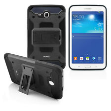 """Samsung Galaxy Tab E Lite 7.0"""" T113 Rugged Armor Box Stand Shockproof Cover Case"""