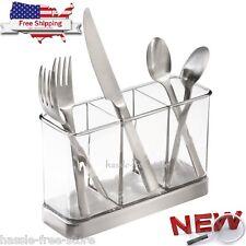 Kitchen Flatware Knife Storage Holder Utensil Silverware Organizer Caddy Cutlery
