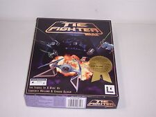 Star Wars Tie Fighter (PC, 1994) Game MS-Dos 3.5 Inch Floppy Disks with box
