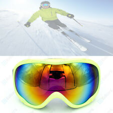Frame Professional Skiing Snowboard Double Lens Anti-fog Ski Goggles Glasses US