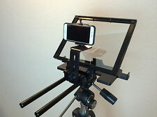 iPhoneTeleprompter  Prompter with Beam Splitter Glass