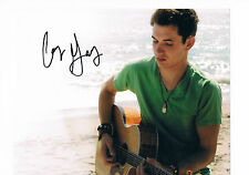 Corey Gray  Singer Songwriter Y.O.U Hand signed Photograph 10 x 8