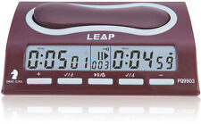 LEAP Professional Chess Clock Timer With 29 Timing Modes Countdown Delay Bonus