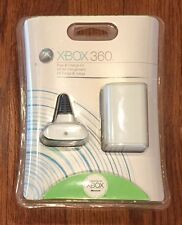 Old School Xbox 360 Play & Charge Kit Battery and Charging Cable White