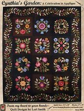 CYNTHIA'S GARDEN APPLIQUE QUILT PATTERN, From My Heart To Your Hands NEW