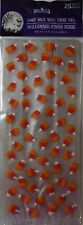 New Halloween Treat Bags Cello 25 Count Pack ~ Candy Corn All Over~FREE SHIPPING