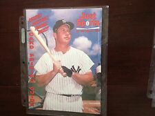 Just Sports issue #30 July 1992 Mickey Mantle on Cover