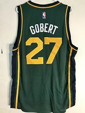 Adidas Swingman 2015-16 NBA Jersey Jazz Rudy Gobert Green sz L