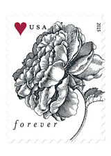 USPS Forever Vintage Rose Edition 50 Sheets of 20 Total of 1000 Stamps
