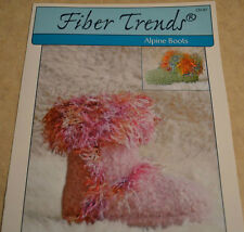Children's Alpine Boots Fiber Trends CH-47 Hand knitting Pattern