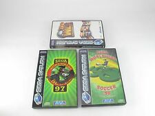 SEGA SATURN WORLDWIDE SOCCER 97 98 swws classifica mondiale GAME PAL COMPLETO