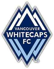 "Vancouver Whitecaps FC MLS Football Soccer Car Bumper Vinyl Sticker Decal 4""X5"""