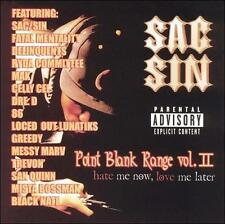Sac-Sin: Point Blank Range/Hate Me Now, Love Me Later, Vol. 2 Explicit Lyrics Au