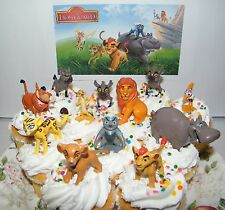 Disney The Lion Guard  Cake Toppers Set of 13 Fun Figures with 5 Lion Guards Etc