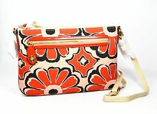 Coach Poppy Bag Floral Scarf Print East West Swingpack 49769 Cross-body