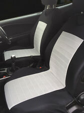 2 GREY SEAT COVERS WITH BARS FOR VOLKSWAGEN SCIROCCO