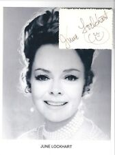 June Lockhart Autograph Mom Lassie Lost in Space Janet Craig Petticoat Junction