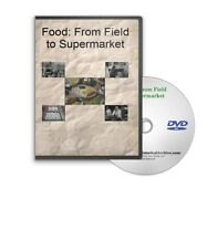 Food: From Field to Supermarket Farming Processing Safety DVD - A561