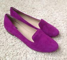 J CREW CELO SUEDE LOAFERS PURPLE Sz 6.5  $150 NEW #A1237