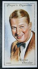 Hollywood  Film Star  Maurice Chevalier  Vintage Portrait Card