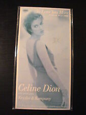 """Celine Dion TO LOVE YOU MORE Japan 3"""" CD Single in Snap-Pack-PS"""