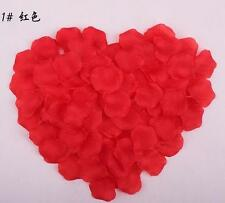100 Red Fairy Simulation Rose Confetti Petals Wedding Table Supplies Decorations