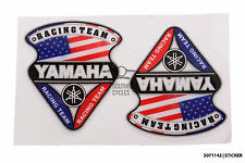 Yamaha racing team American flag decal/sticker for motorbike/scooter *gel