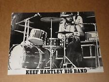 Keef Hartley Big Band 1969 Tour Programme