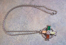 MIRACLE CROSS NECKLACE AND PENDANT