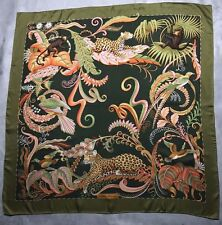 "Authentique foulard  ""Ferragamo ""/ Authentic  "" Ferragamo "" silk scarf"