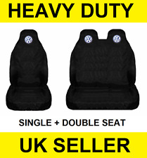 VOLKSWAGEN TRANSPORTER T5 Van Seat Covers Protectors 2+1 100% WATERPROOF VW NEW