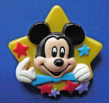 BUY1&GET1@50%~Avon PIN MICKEY MOUSE in HOLLYWOOD w STARS Vtg Brooch