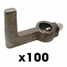 "100 2x4"" Single Screed Hooks - Concrete Forms Screed Post slab curb patio inch"