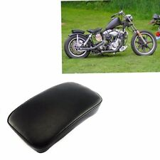 RECTANGULAR PILLION PASSENGER PAD SEAT 6 SUCTION CUP FOR HARLEY CRUISER CHOPPER