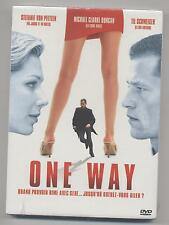 NEUF DVD ONE WAY SOUS BLISTER THRILLER Hindle, Duncan, VON PFETTEN LEE SMITH