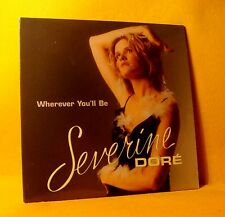 Cardsleeve Single CD BELPOP Severine Doré Wherever You'll Be 2TR 2002 Eurovision