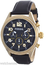 Fossil Men's Sport Black Dial Chronograph Watch DE5000