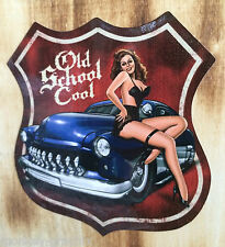 ADESIVI Rockabilly Oldschool Pin Up Old School Hotrod Sticker CUSTOM Mercury