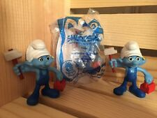 2013 MCDONALDS smurfs 2 handy smurf HAPPY MEAL toy #3