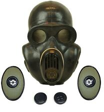 Russian military soviet Black gas mask PBF EO-19 with filters. Sizes 0 1 2