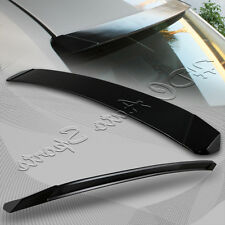 For 2014-2016 Toyota Corolla Sport ABS Black Rear Window Visor Roof Spoiler Wing