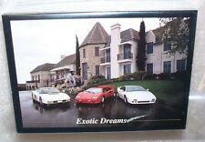Exotic Dreams Trading Card Set Corvettes, Ferraris, Porsche +++