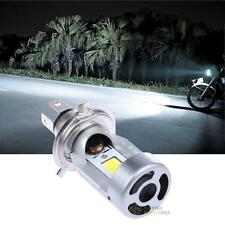 LED Headlight H4 Hi Lo 20W 2000LM M4-H4 HS1 COB Motorcycle Headlamp Surper White
