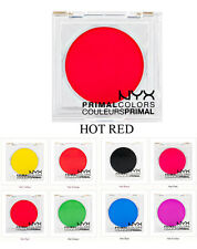 NYX Eyeshadow HOT RED PC07 Primal Colors Pressed Pigments Theatrical Makeup